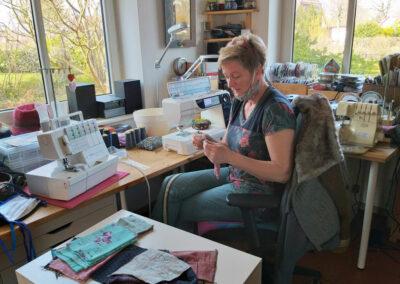 Atelier von Bea & Mai Textildesign, Wilstedt