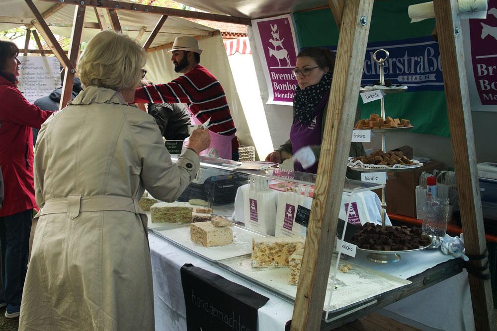 Bremer Bonbon Manufaktur - Marktstand