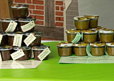 die olivenkonfitüre - Marktstand