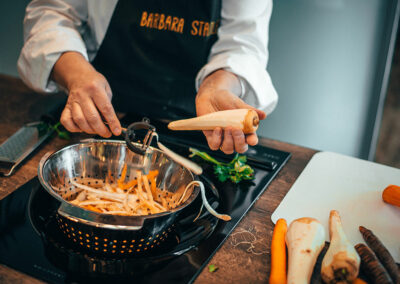 Impressionen aus der Kochschule Stadler