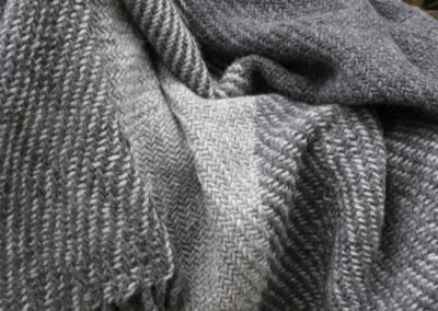 Wolle, Felle und Wollprodukte vom Pommerschen Landschaf