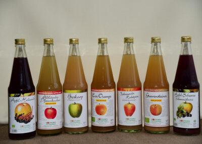 Apfelsaft der Mosterei Engelmann